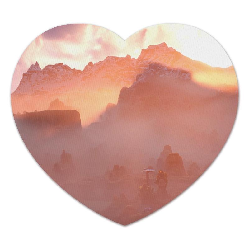 Коврик для мышки (сердце) Printio Horizon zero dawn