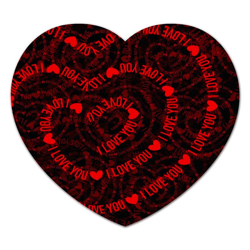 Коврик для мышки (сердце) Printio Любовь цена