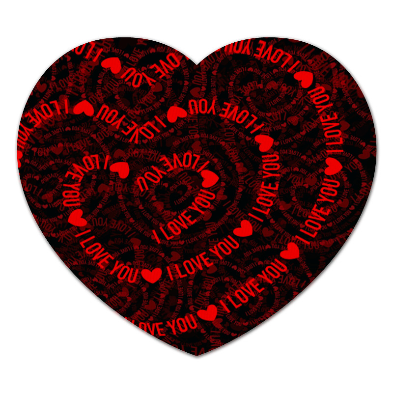 Коврик для мышки (сердце) Printio Любовь худи print bar любовь в сердце