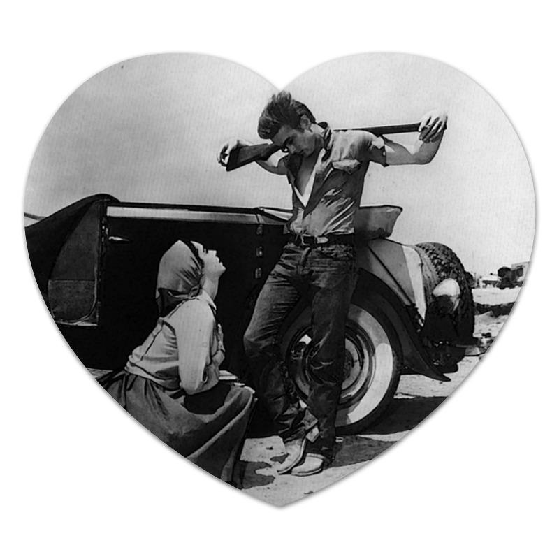 Коврик для мышки (сердце) Printio Джеймс дин james dean этта джеймс etta james hickory dickory dock