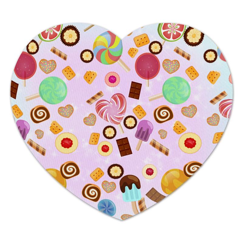 Коврик для мышки (сердце) Printio Сладкое сердце коврик для мышки сердце printio ландыши