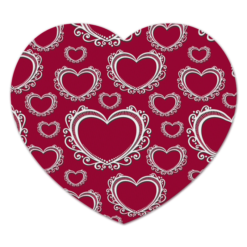 Коврик для мышки (сердце) Printio Сердца