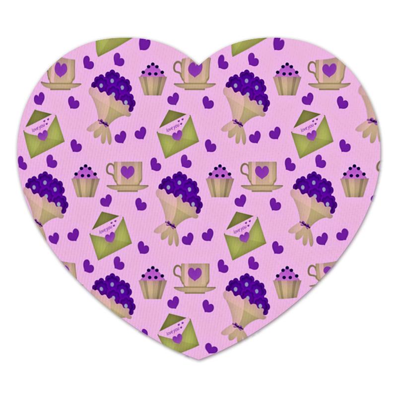 Коврик для мышки (сердце) Printio Love you коврик для мышки сердце printio love is boundless