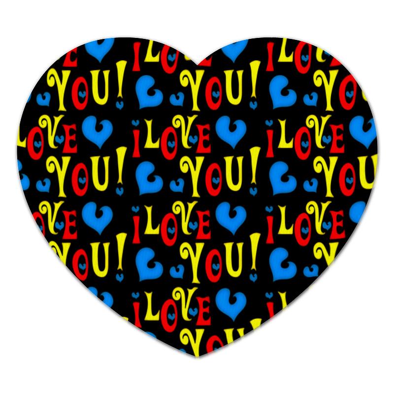 Коврик для мышки (сердце) Printio Сердечки коврик для мышки printio розовые сердечки
