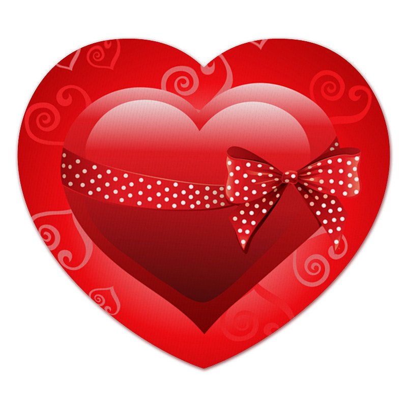 Коврик для мышки (сердце) Printio Сердце коврик для мышки сердце printio кошки