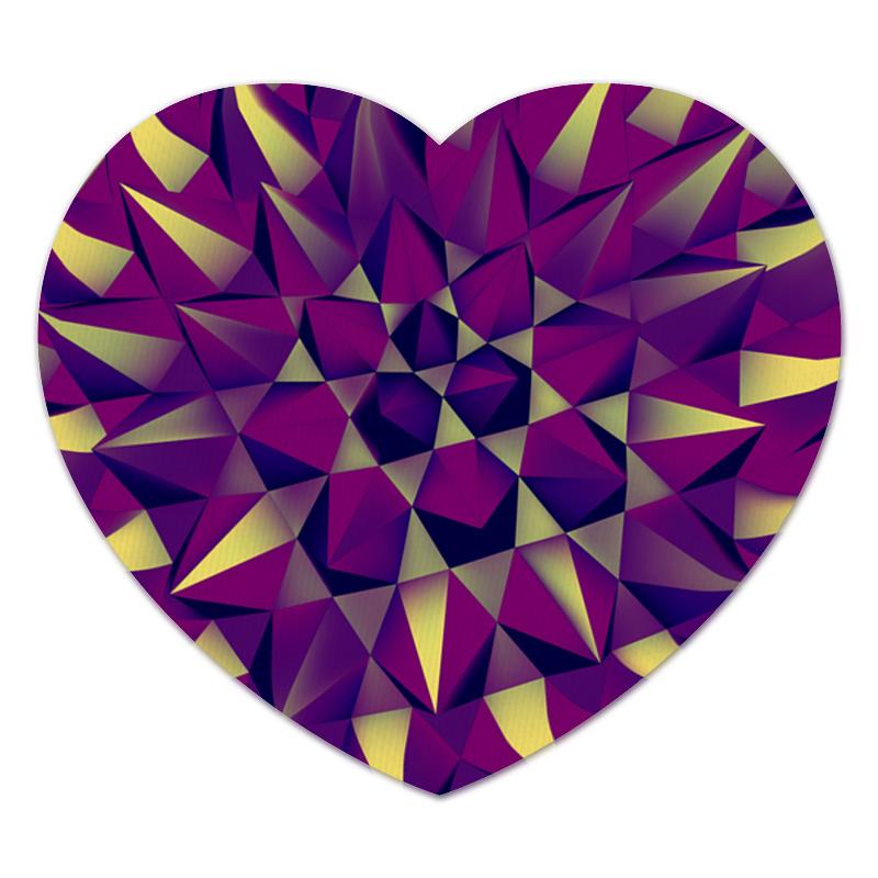 Коврик для мышки (сердце) Printio Абстракция