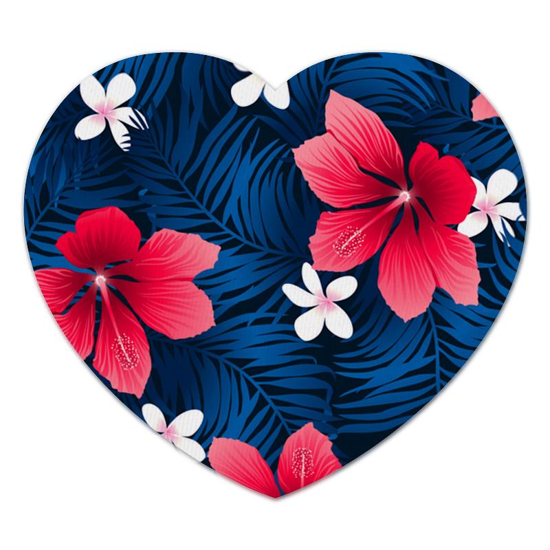 Коврик для мышки (сердце) Printio Лесные цветы коврик для мышки сердце printio лесные цветы