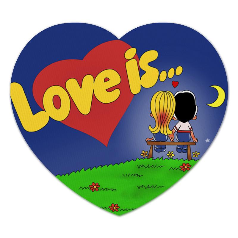 Коврик для мышки (сердце) Printio Love is коврик для мышки сердце printio love is boundless