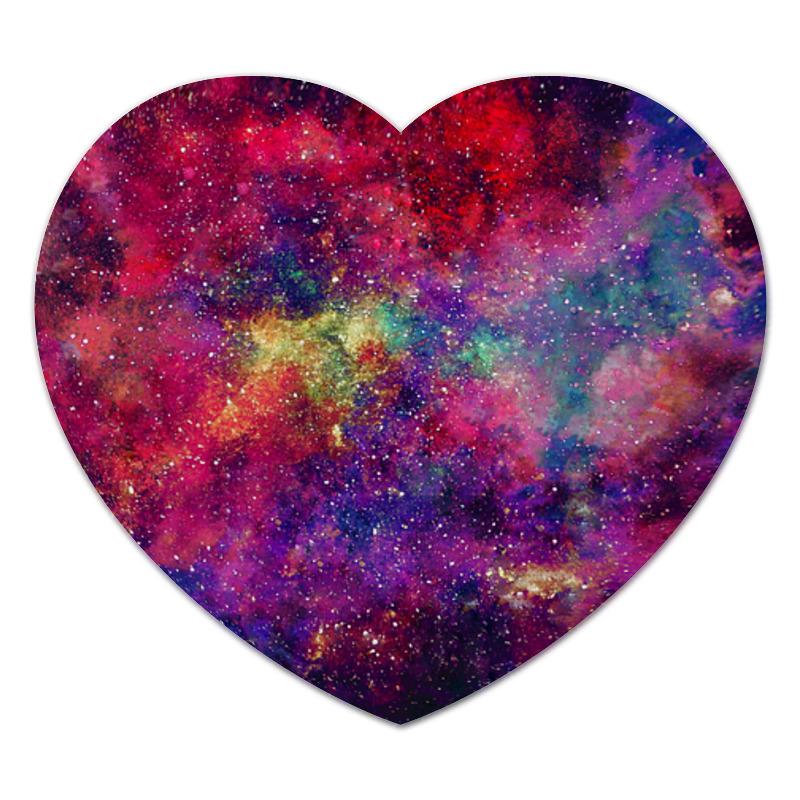 Коврик для мышки (сердце) Космос