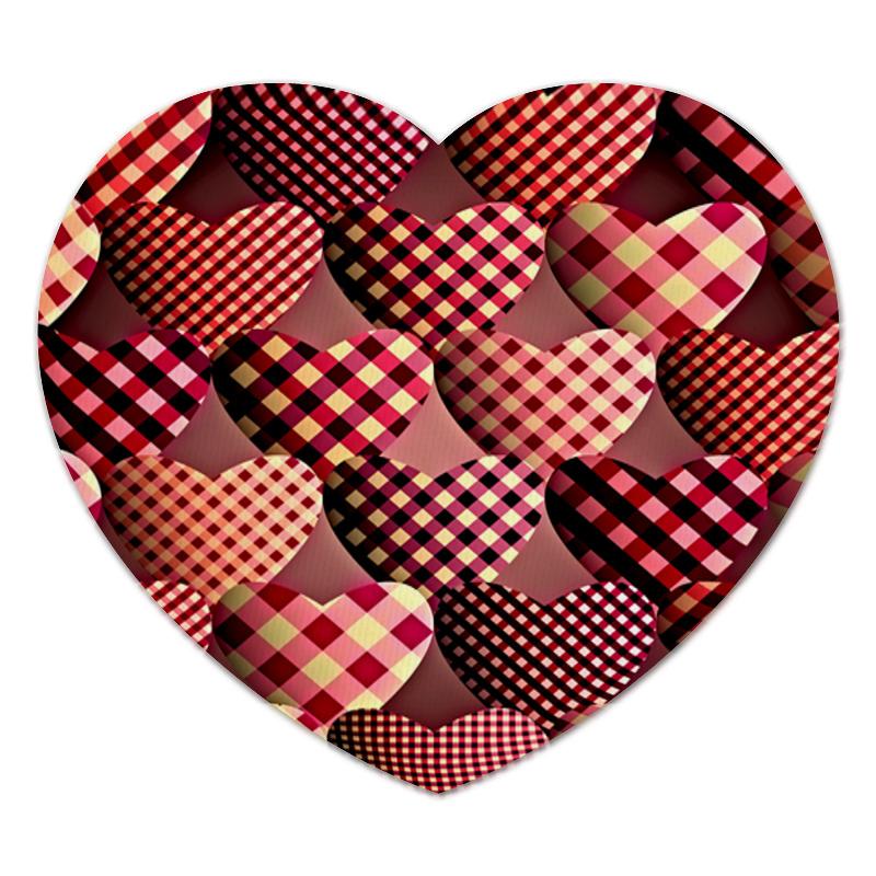 Коврик для мышки (сердце) Printio Сердце коврик для мышки сердце printio лесные цветы