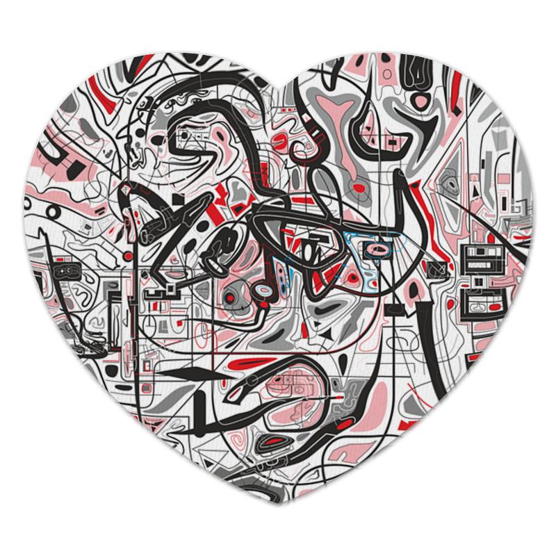 Коврик для мышки (сердце) Printio Mamewax erich krause тетрадь 24 листа упаковка из 10 шт линейка