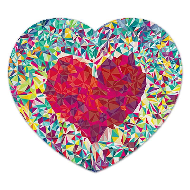 Коврик для мышки (сердце) Printio Сердце коврик для мышки сердце printio ландыши