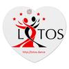 "Коврик для мышки (сердце) ""Large Logo MousePad"" - lotos, тск лотос"