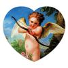 "Коврик для мышки (сердце) ""Амур, стреляющий из лука (Шарль-Андре ван Лоо)"" - картина, шарль-андре ван лоо"