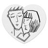 """Коврик для мышки (сердце) """"Любовь"""" - деньвсехвлюбленных"""