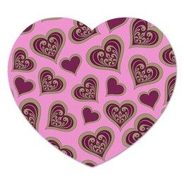 """Коврик для мышки (сердце) """"Сердце"""" - сердце, любовь, валентинка, день св валентина"""