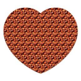 """Коврик для мышки (сердце) """"Дикая малина"""" - красный, ягоды, малина, сладкий, аромат"""