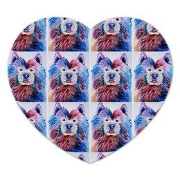 """Коврик для мышки (сердце) """"Любовь"""" - животные, мода, собаки, kawaii, коврикдлямыши"""