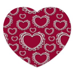 """Коврик для мышки (сердце) """"Сердца"""" - сердце"""