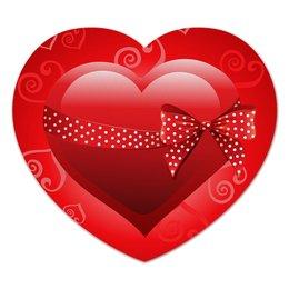 """Коврик для мышки (сердце) """"Сердце"""" - день св валентина, валентинка, сердце"""