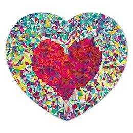 """Коврик для мышки (сердце) """"Сердце"""" - сердце, 14 февраля, 8 марта"""