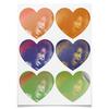 """Наклейки сердца """"Whitney Houston (певица)"""" - певица, сша, уитни хьюстон, whitney houston, актриса"""