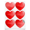 """Наклейки сердца """"сердце"""" - сердце, сердца, сердечки"""