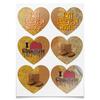 """Наклейки сердца """"I <3 chocolate"""" - сердце, орнамент, шоколад, chocolate, believe"""