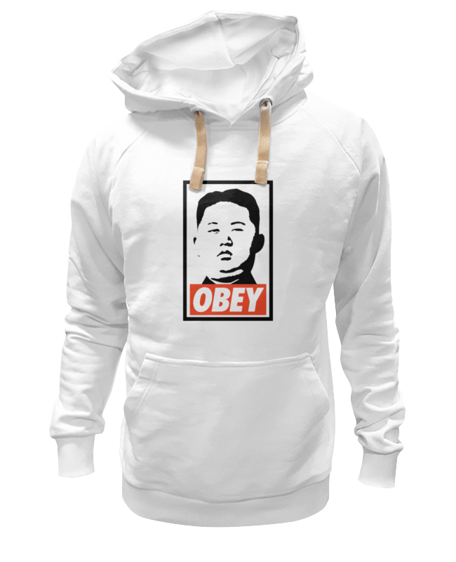 Толстовка Wearcraft Premium унисекс Printio Подчинись (obey) толстовка wearcraft premium унисекс printio bacon obey