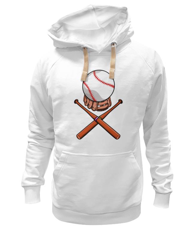Толстовка Wearcraft Premium унисекс Printio Биты и мяч (бейсбол) цена и фото