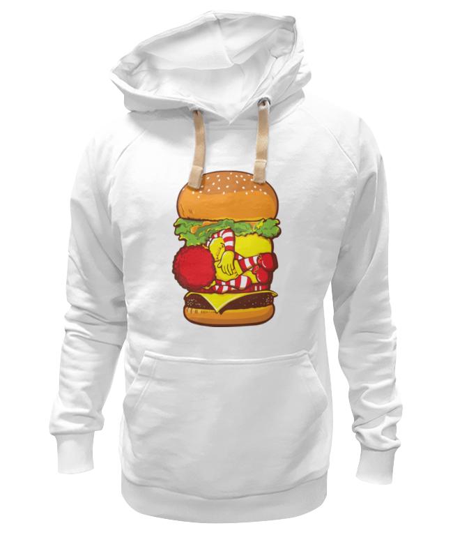 Толстовка Wearcraft Premium унисекс Printio Чизбургер чехол для одежды eva цвет светло коричневый 65 х 150 см е17