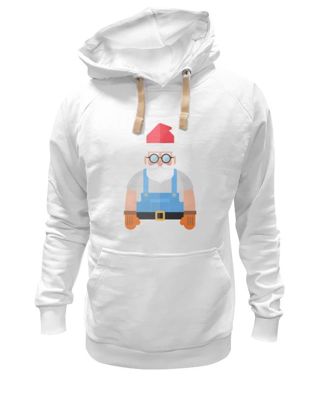Толстовка Wearcraft Premium унисекс Printio Дед мороз-строитель толстовка westelite 497
