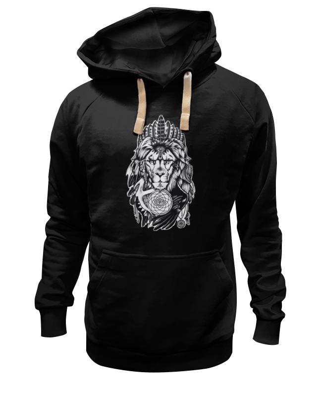 Толстовка Wearcraft Premium унисекс Printio The lion толстовка wearcraft premium унисекс printio бесстрашный воин