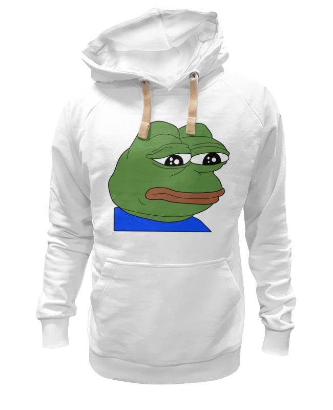 Толстовка Wearcraft Premium унисекс Printio Sad frog