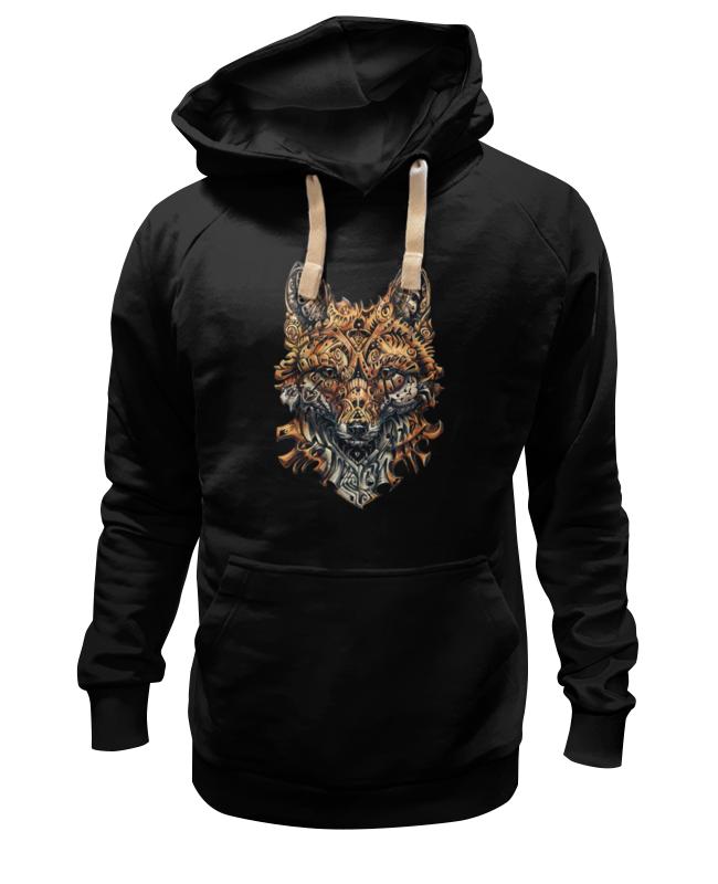 Толстовка Wearcraft Premium унисекс Printio Голова лисы цена