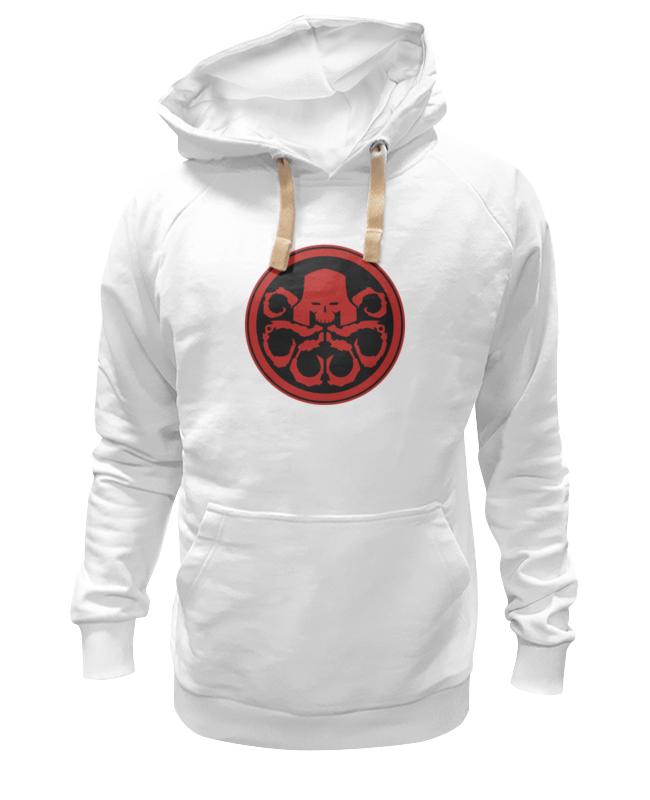 Толстовка Wearcraft Premium унисекс Printio Красный череп (гидра) лонгслив printio красный череп гидра