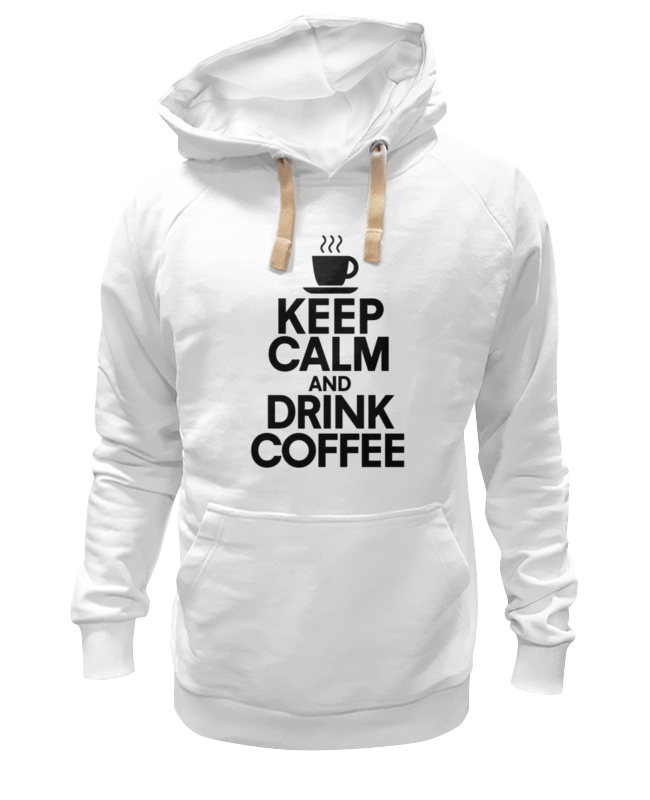 Толстовка Wearcraft Premium унисекс Printio Пей кофе толстовка wearcraft premium унисекс printio пей кофе