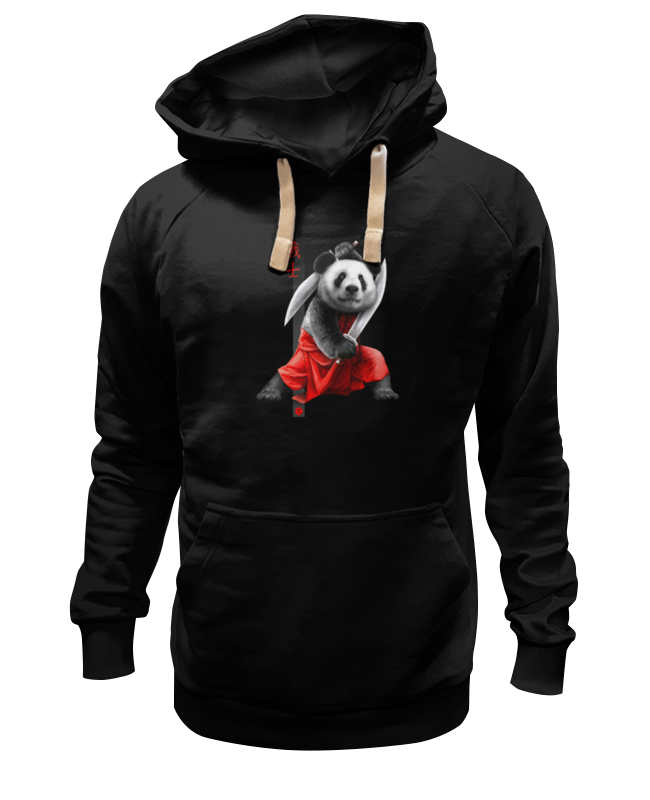 Толстовка Wearcraft Premium унисекс Printio Панда с мечами футболка классическая printio панда с мечами