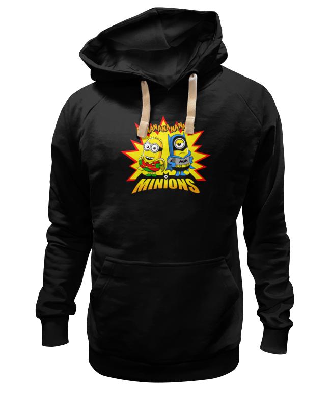 Толстовка Wearcraft Premium унисекс Printio Banananananana minions лонгслив printio banananananana minions