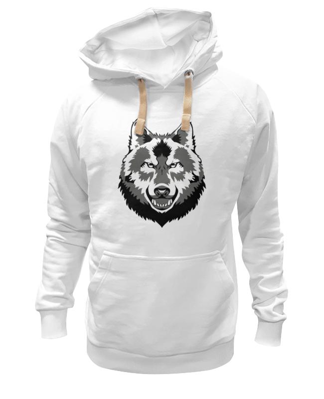 Толстовка Wearcraft Premium унисекс Printio Grey wolf толстовка wearcraft premium унисекс printio yale bulldogs