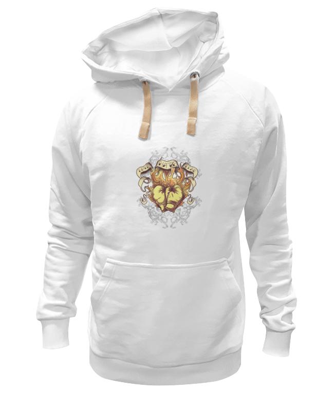 Толстовка Wearcraft Premium унисекс Printio Сердце толстовка wearcraft premium унисекс printio холодное сердце