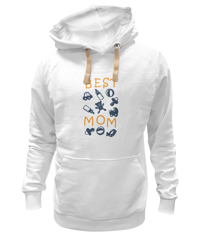 Толстовка Wearcraft Premium унисекс Printio Best mom футболка wearcraft premium printio best mom