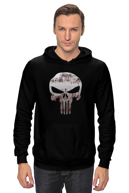 Толстовка Wearcraft Premium унисекс Printio The punisher толстовка wearcraft premium унисекс printio punisher of the future