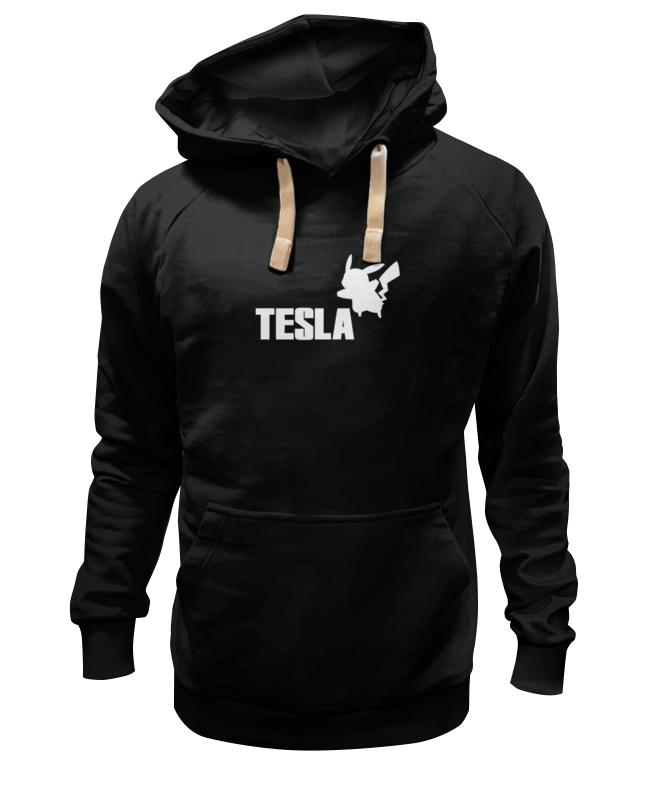 Толстовка Wearcraft Premium унисекс Printio Tesla