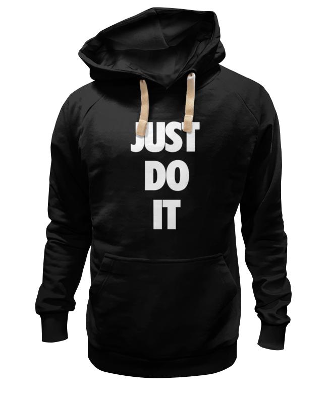 Толстовка Wearcraft Premium унисекс Printio Just do it (просто сделай это) лонгслив printio just