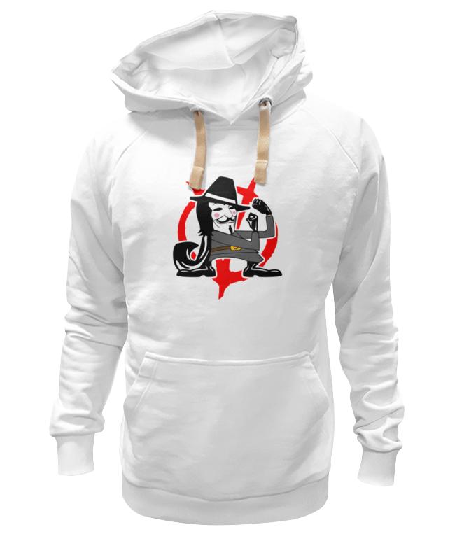 Толстовка Wearcraft Premium унисекс Printio Вендетта (маска гая фокса) футболка wearcraft premium printio вендетта маска гая фокса