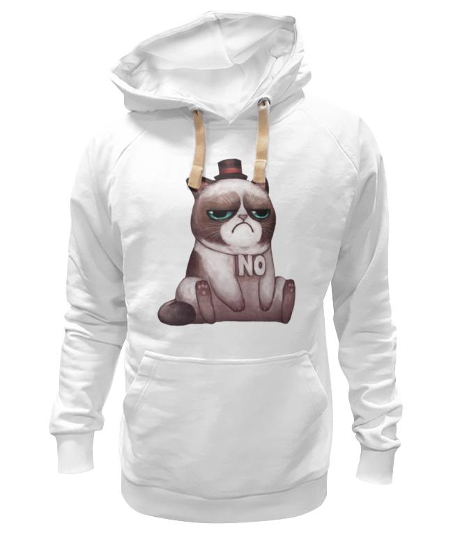 Толстовка Wearcraft Premium унисекс Printio Котик нет толстовка wearcraft premium унисекс printio милый котик