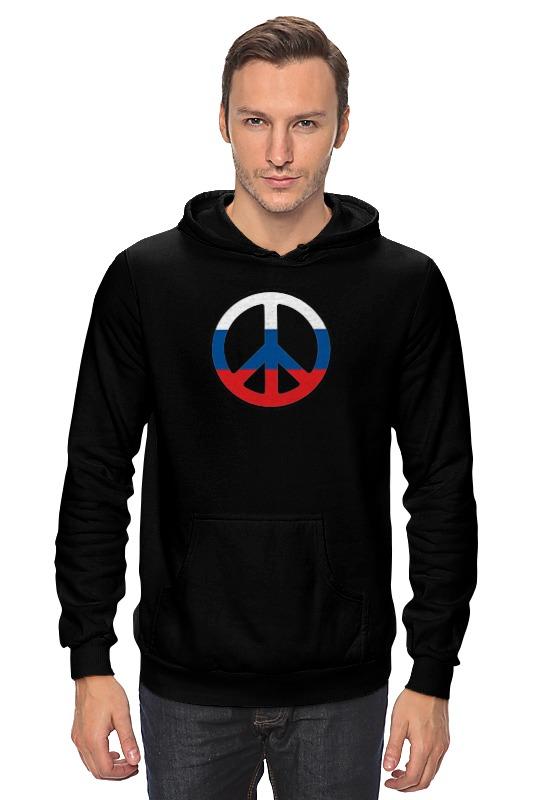 Толстовка Wearcraft Premium унисекс Printio Russian pacifist толстовка wearcraft premium унисекс printio russian bear