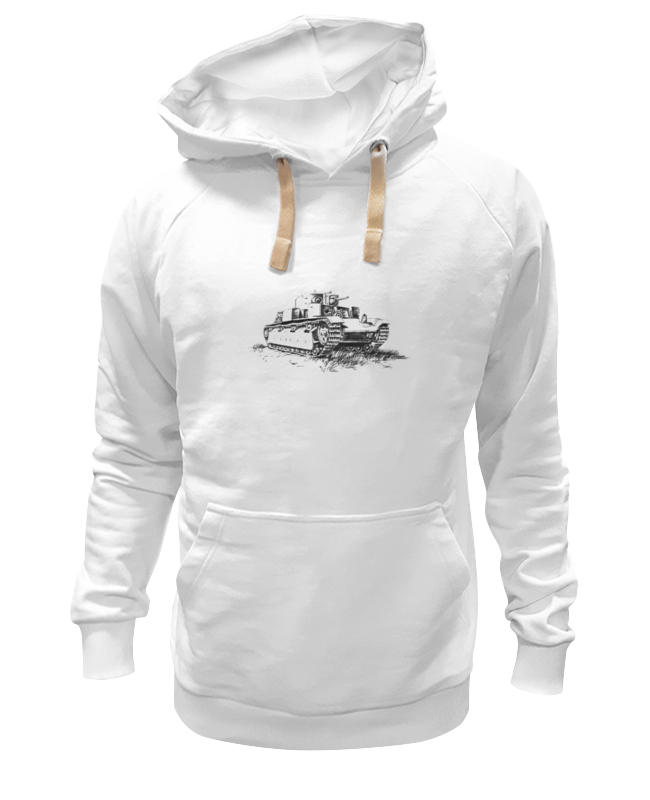 Толстовка Wearcraft Premium унисекс Printio Танк т 28