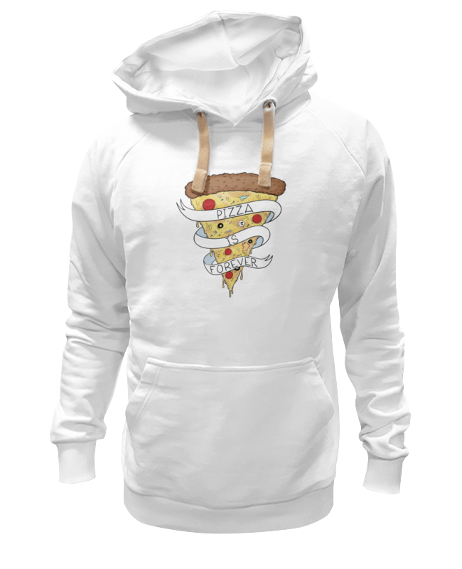 Толстовка Wearcraft Premium унисекс Printio Пицца навсегда (pizza forever) пицца big buffet pizza